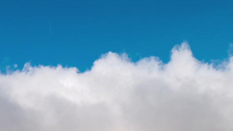 Flying Through Clouds Time Lapse: Stock Video