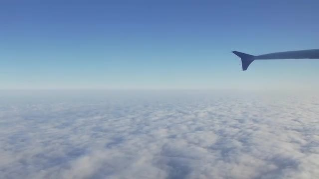 Flying Over Clouds Aerial: Stock Video