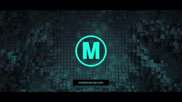 Technological Logo Opener: After Effects Templates