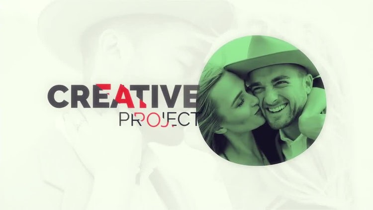 Modern Creative Slideshow: After Effects Templates
