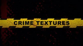 Crime Textures: Motion Graphics