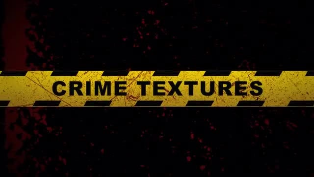 Crime Textures: Stock Motion Graphics