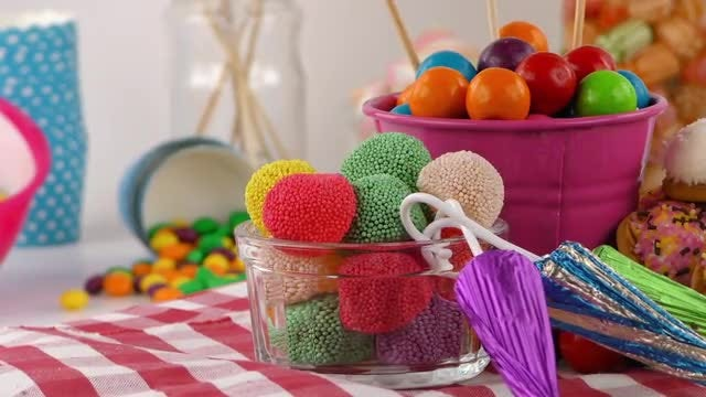 Candy Sweet Jelly Lollies : Stock Video