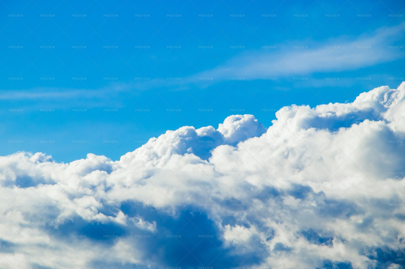 Fluffy White Cloud: Stock Photos