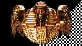 Golden Pharaoh Heads VJ Loop: Motion Graphics