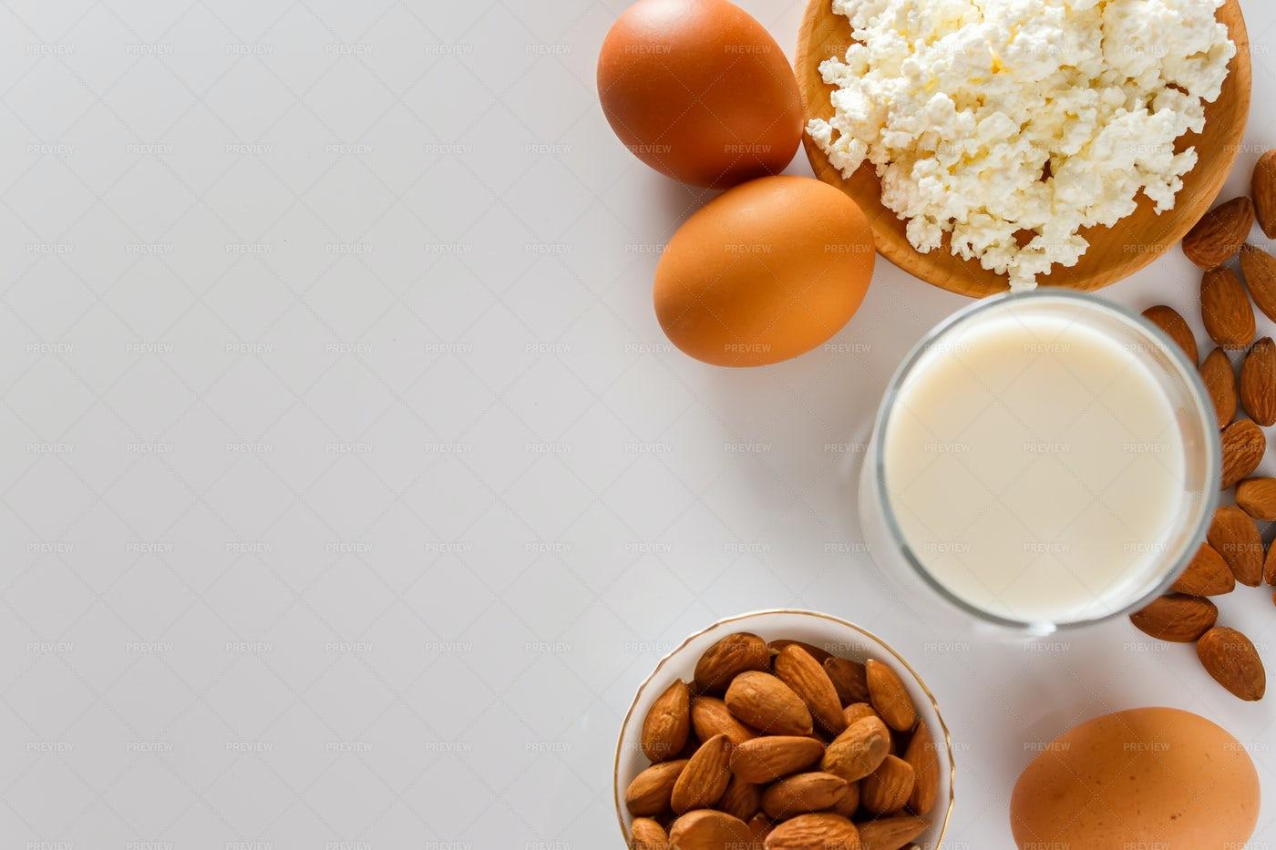 Protein Food: Stock Photos