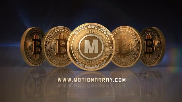 Bitcoin Logo: After Effects Templates