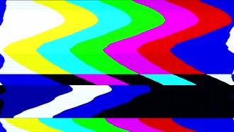 Retro TV Color Bars: Motion Graphics