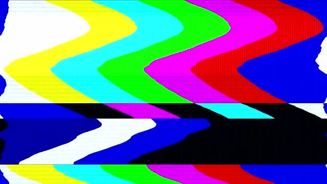 Retro TV Color Bars: Stock Motion Graphics