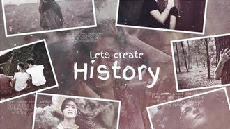 Lets Create History: After Effects Templates