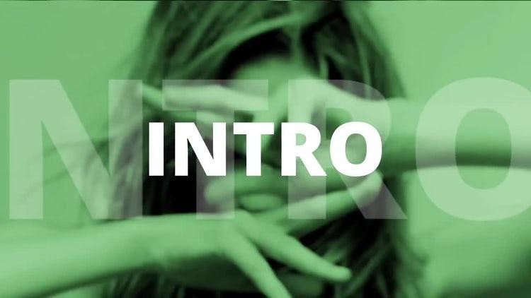 Intro Opener: Premiere Pro Templates