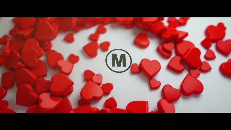 Love Logo Reveal 3D: After Effects Templates
