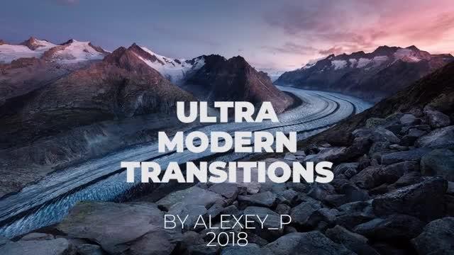 Ultramodern Tranisitons: Premiere Pro Templates