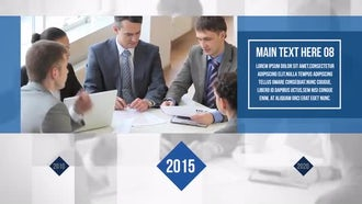 Corporate Slide Timeline: After Effects Templates