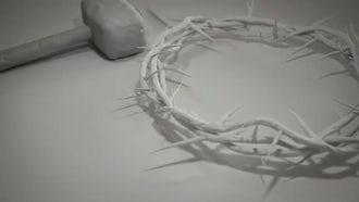 Crucifixion Of Jesus Christ Theme : Motion Graphics