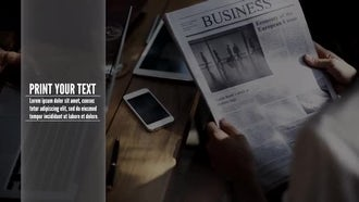 Business Talk Slideshow: After Effects Templates