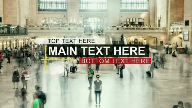 5 Huge Lower Thirds and Titles : After Effects Templates