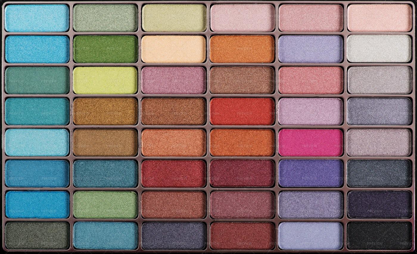 Eyeshadow Tray: Stock Photos