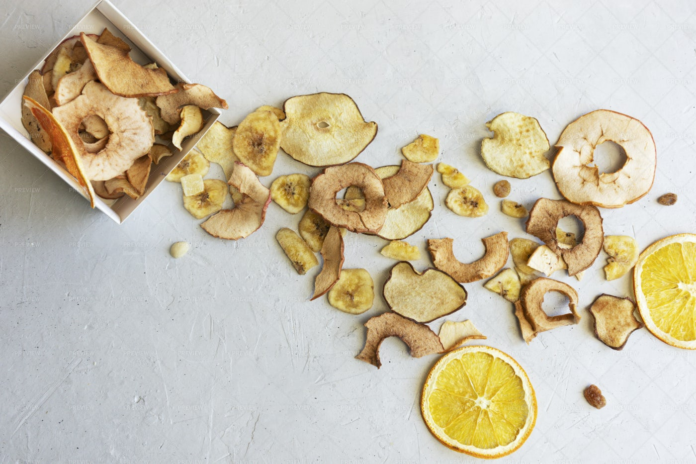 Fruit Chips: Stock Photos