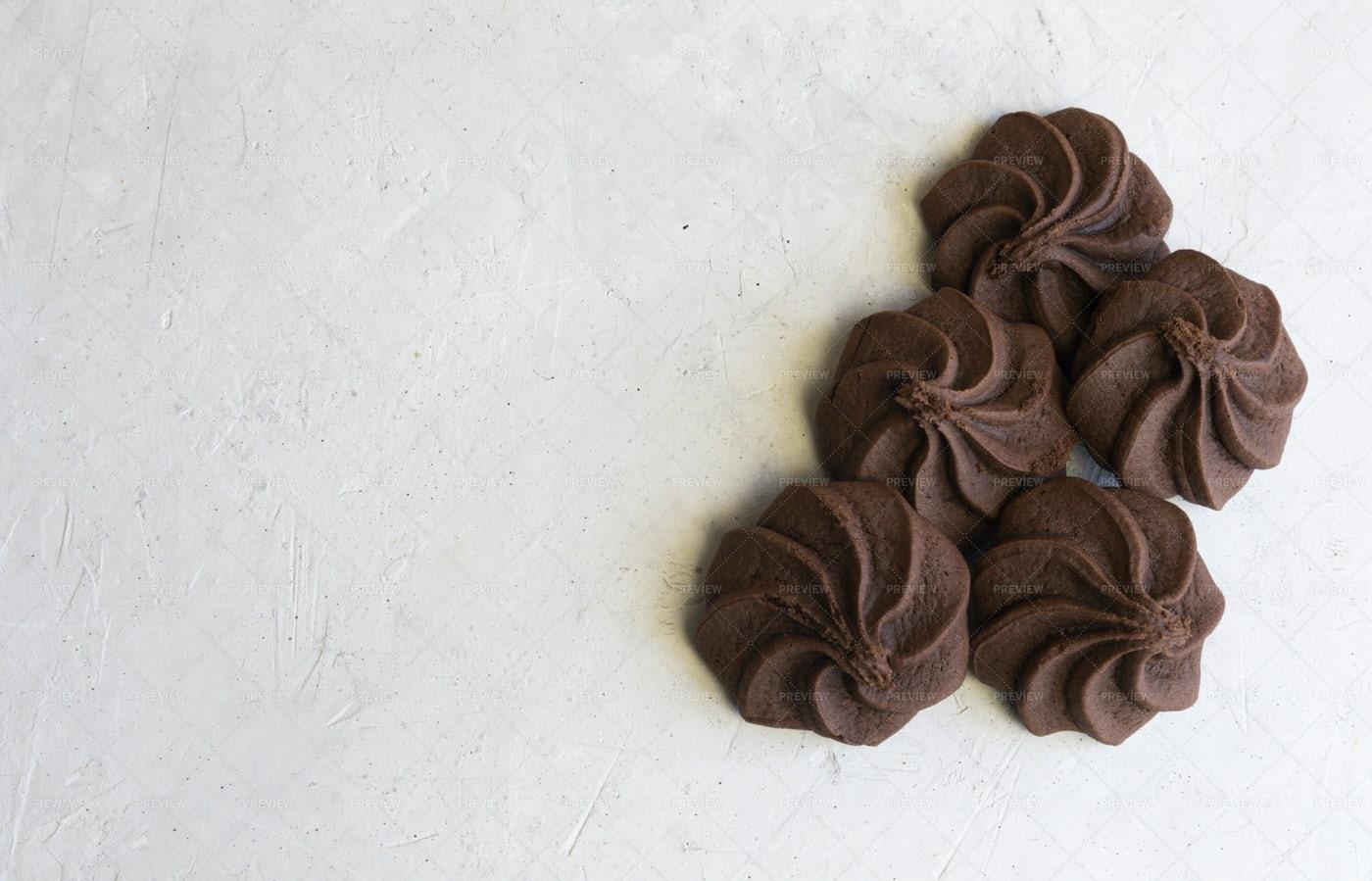 Textured Chocolate Chip: Stock Photos