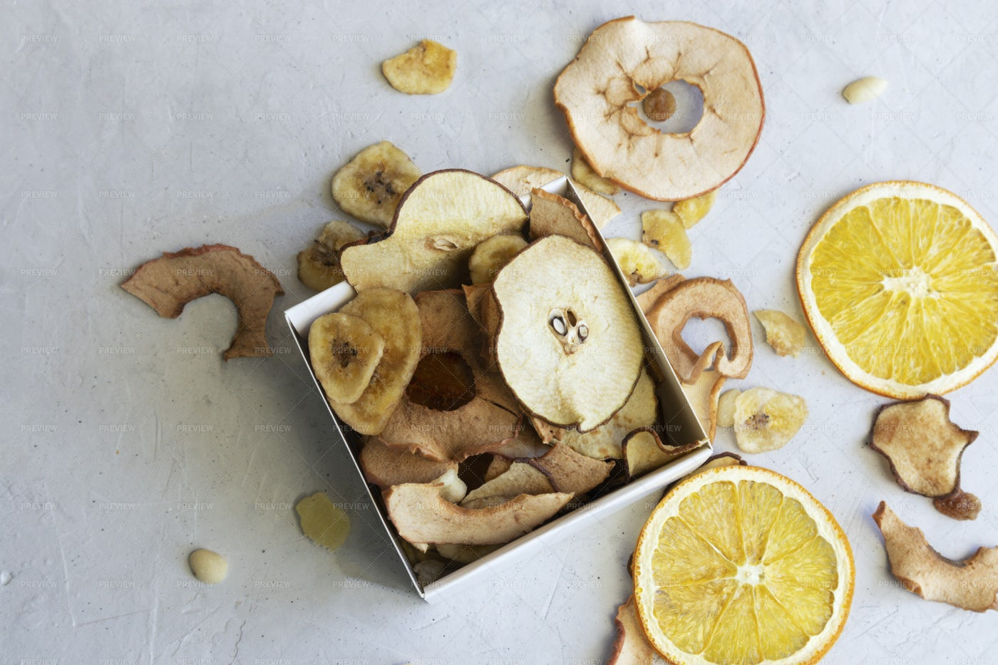 Box With Dried Fruit: Stock Photos