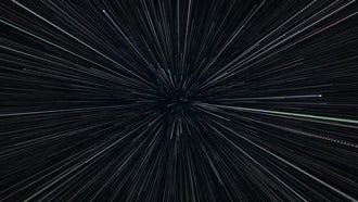 Fly Thru Particles: Motion Graphics