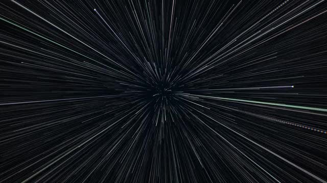 Fly Thru Particles: Stock Motion Graphics