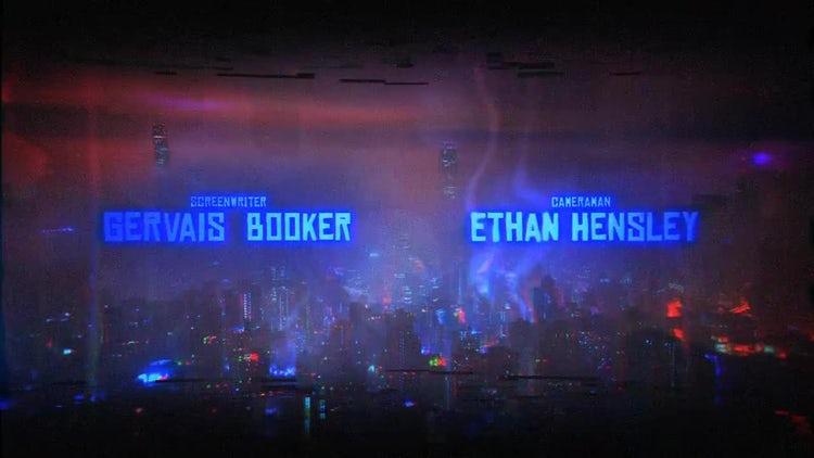 Cyberpunk Titles: After Effects Templates
