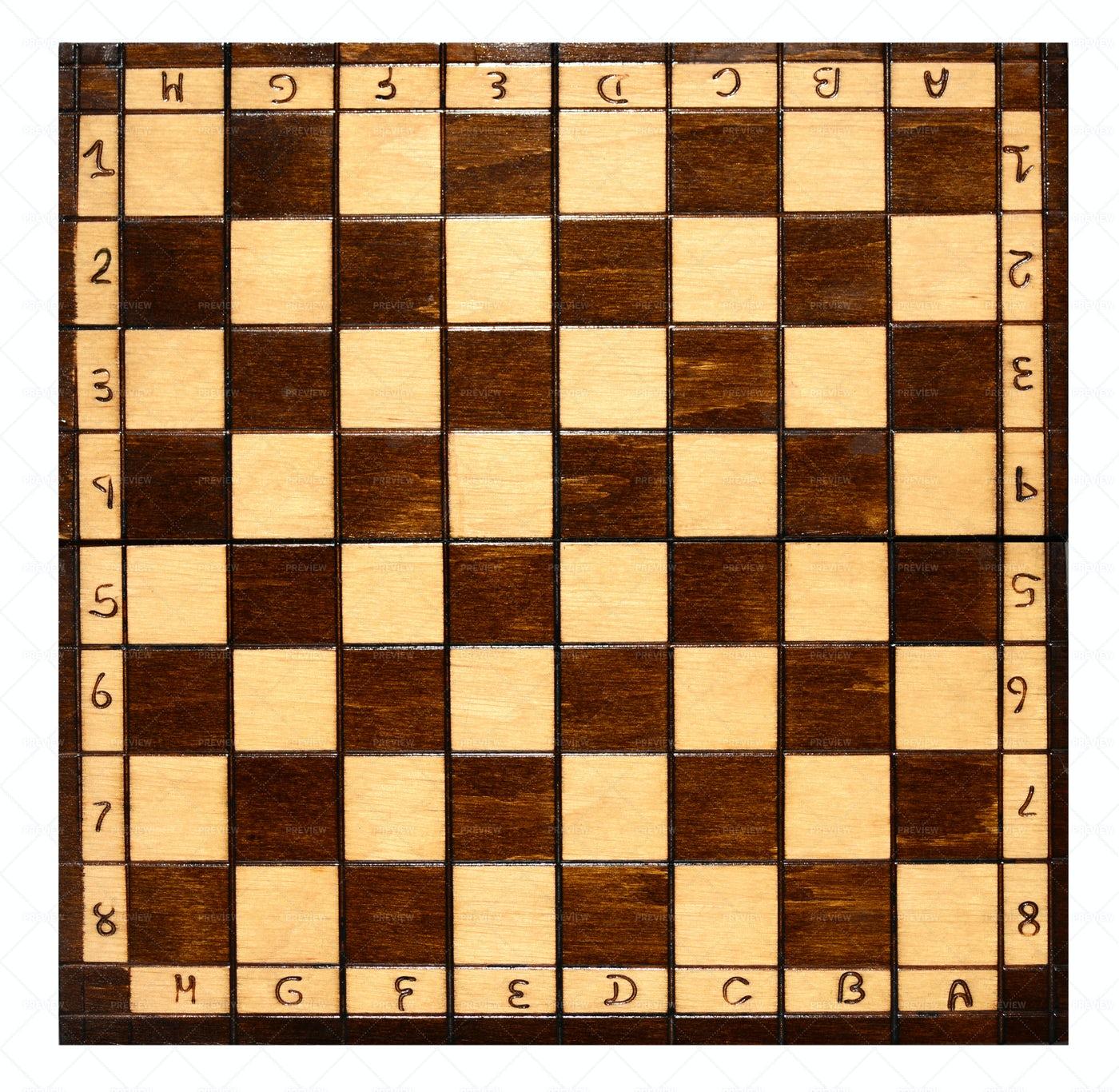 Wooden Chess Board: Stock Photos