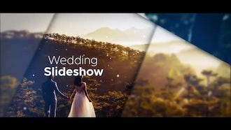 Modern Wedding Slideshow: After Effects Templates