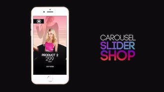 Carousel Slider Shop : After Effects Templates