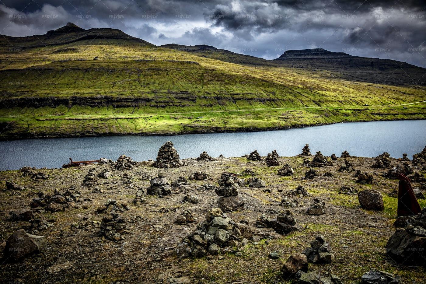Faroe Islands Landscape: Stock Photos