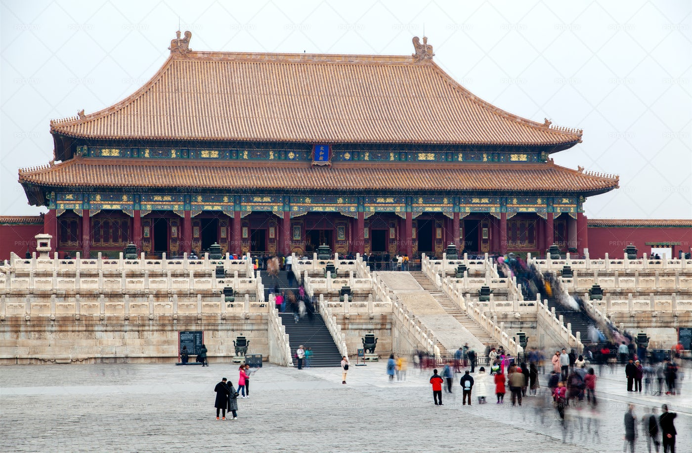 China's Forbidden City: Stock Photos