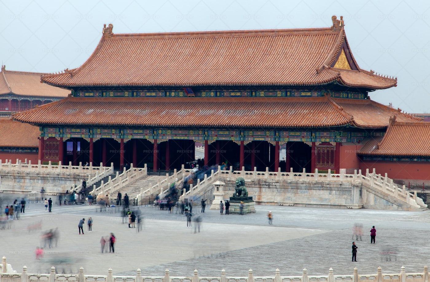 Forbidden City Palace: Stock Photos