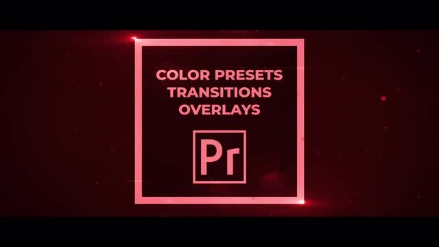 50 Pack: Color Presets, Transitions, Overlays: Premiere Pro Presets
