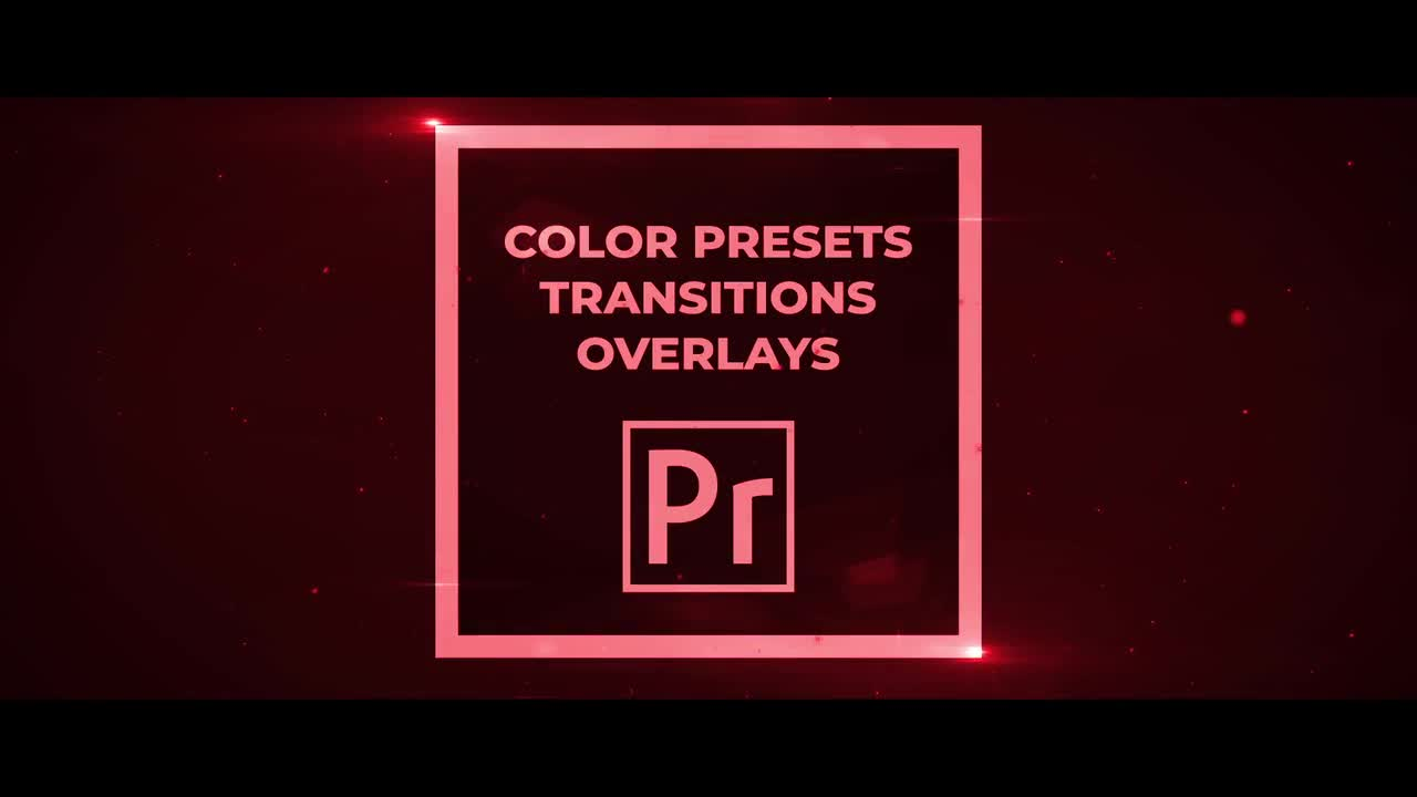 50 Pack Color Presets, Transitions, Overlays - Premiere Pro Templates 72578