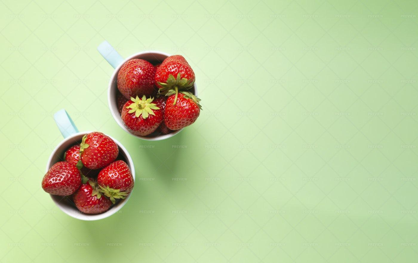 Ripe Strawberries: Stock Photos