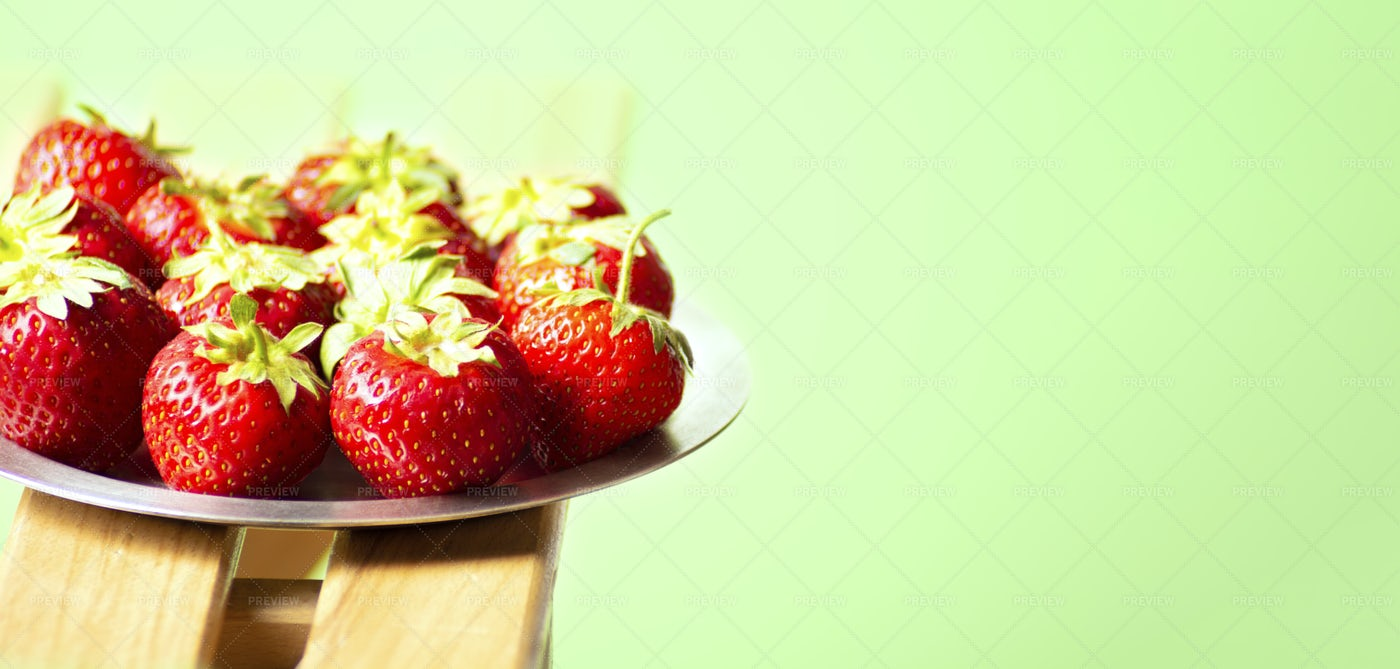 Red Strawberries.: Stock Photos