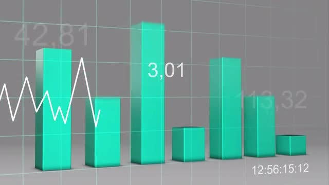 Up And Down Stats : Stock Motion Graphics