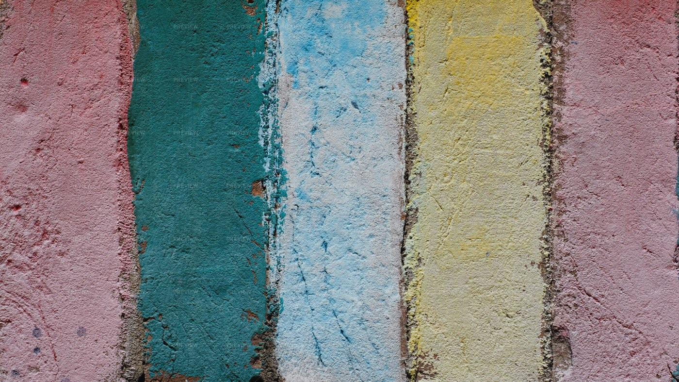 Coloured Bricks: Stock Photos