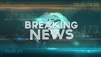 Breaking News Loop: Motion Graphics