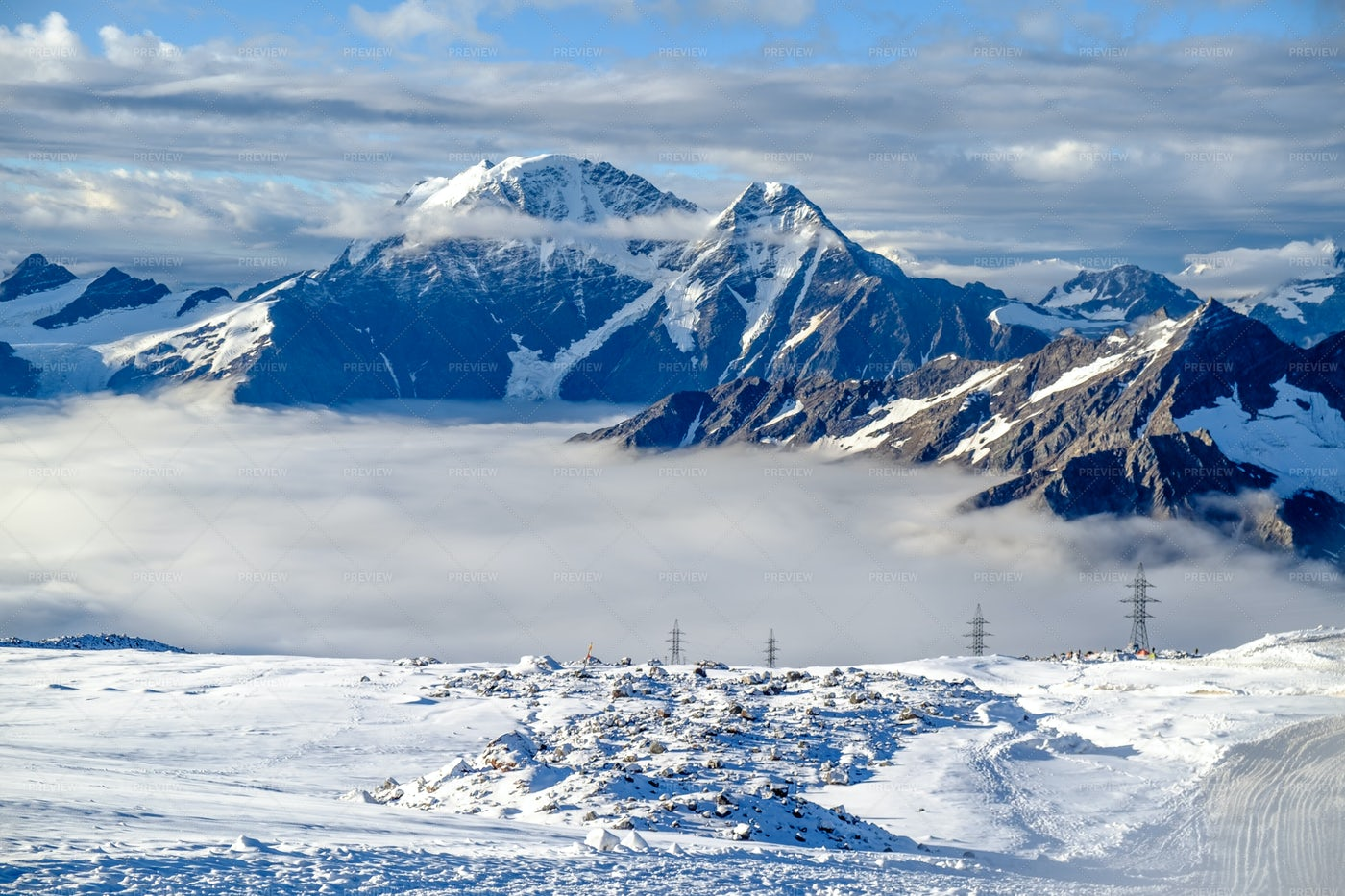 Mount Elbrus: Stock Photos