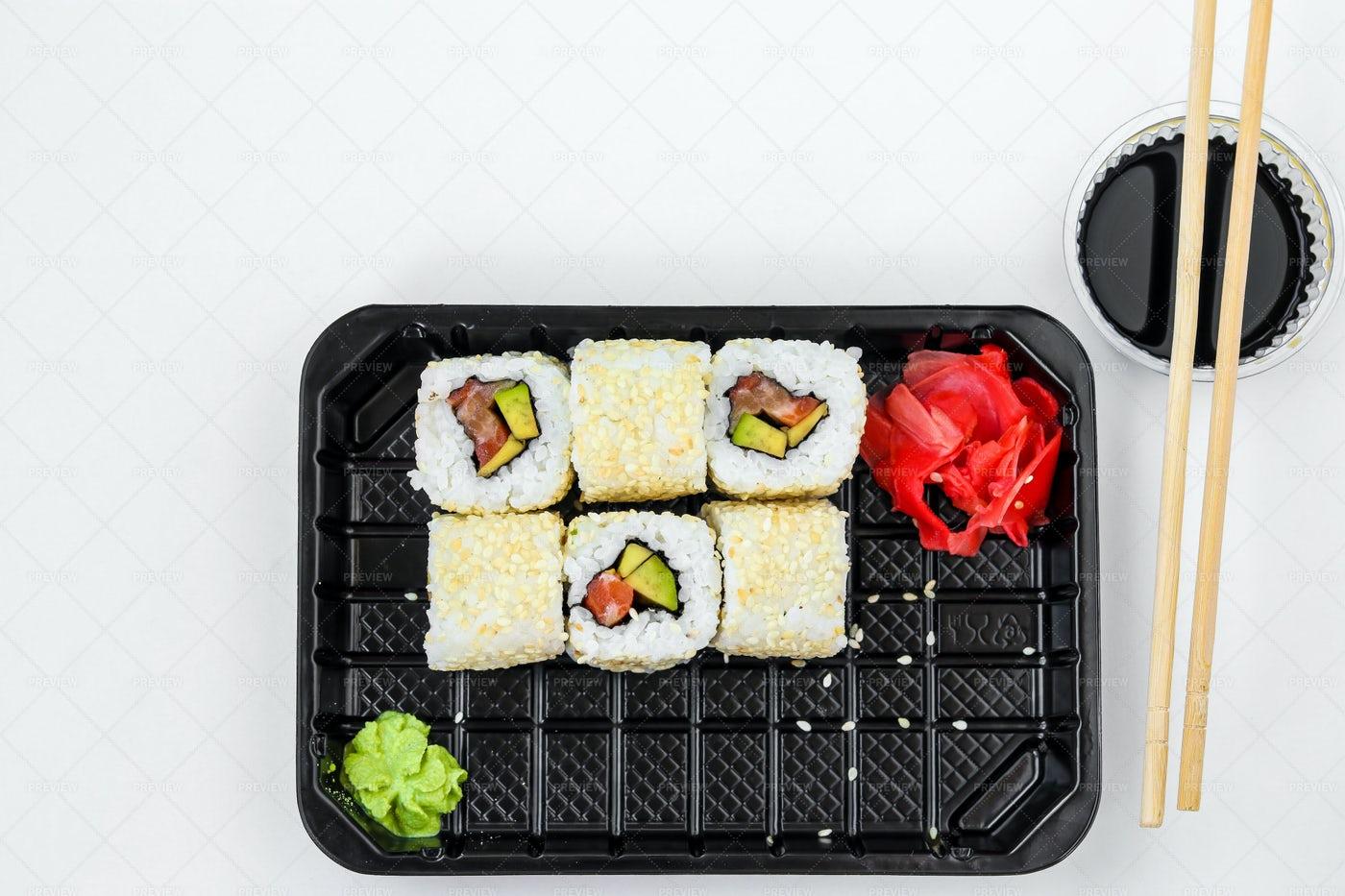 Sushi Rolls: Stock Photos
