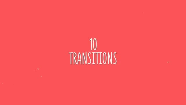 Summer Transitions Circle: After Effects Templates