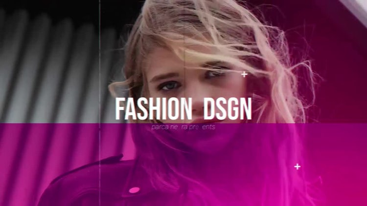 Fashion Design Slideshow Opener: After Effects Templates