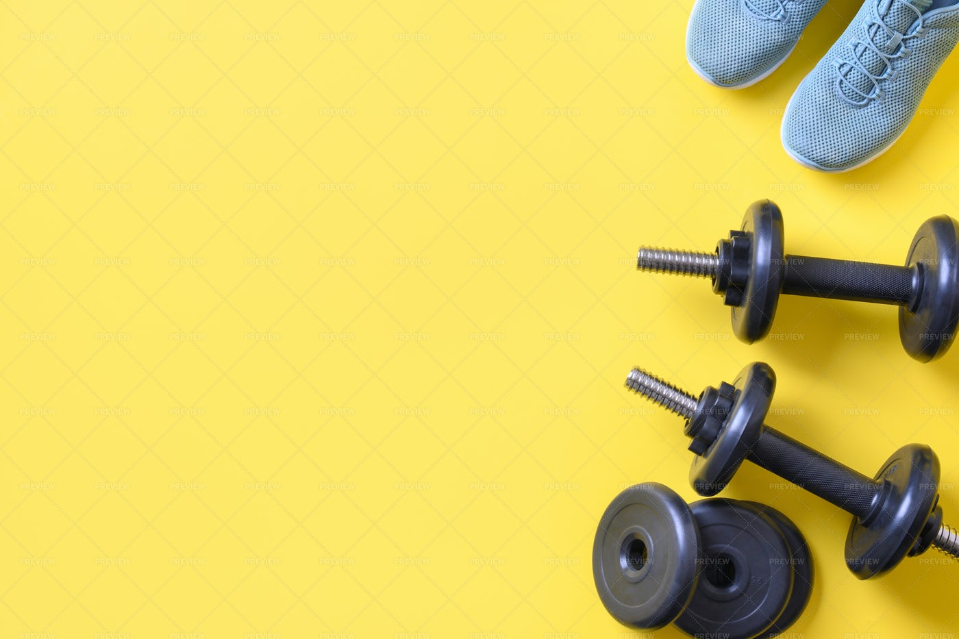 Sport And Fitness Equipment: Stock Photos