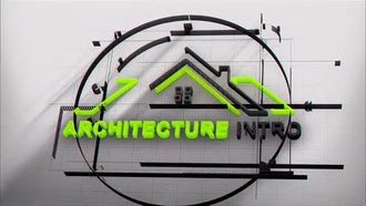Architecture Logo Intro: After Effects Templates