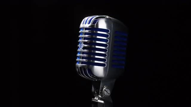 Microphone Spotlight: Stock Video