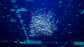 Digital Data Network Space Pack: Motion Graphics