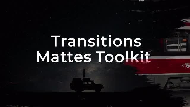 Transition Mattes Toolkit: Premiere Pro Templates